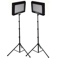 Bescor LED-95DK2 Twin 95w Studio Lighting Kit