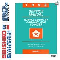 1995 Chrysler Town & Country, Caravan, Voyager Shop Service Repair Manual CD