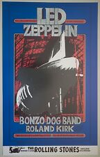 Vintage Led Zeppelin Concert Poster 1969 Winterland San Francisco Bill Graham