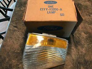 1981-84 MERCURY LYNX RH PARKING LIGHT TURN SIGNAL LENS  New Old Stock With Box