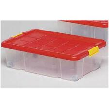 Rollen Unterbettkommode Aufbewahrungsbox Stapelbox Eurobox 60x40x18cm Kiste Box