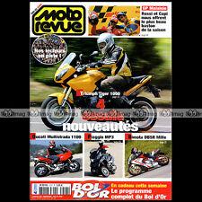 MOTO REVUE N°3727 PIAGGIO 125 MP3 TRIUMPH 1050 TIGER GP PATRICK FERNANDEZ 2006