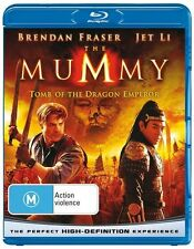 The Mummy: Tomb of the Dragon Emperor (Blu-ray, 2009) NEW AND SEALED