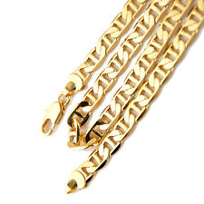 """Men's/Women's Necklace Charms link  18k Yellow Gold Filled 24"""" Stud Chain"""