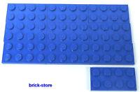 LEGO / 2X4 PIASTRE BLU / 10-pc