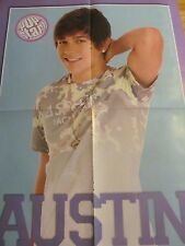 Austin Mahone, One Direction, Double Four Page Foldout Poster