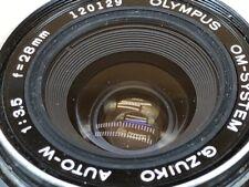 Olympus OM 28mm f3.5 Prime Lens- Silver Nose