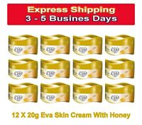 Lot 12 X 20g Travel Size Eva Cream With Honey Normal Skin Moisturizer Face Body
