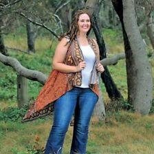 Handmade Paisley Wrap Tops for Women