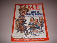 TIME Magazine, March 8, 1976, WHO IS JIMMY CARTER?, TRIUMPH SPITFIRE, TR6 AD!