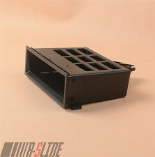 Dashboard Center Storage Tray Cubby Box Black For VW Bora Golf MK IV Lupo Sharan