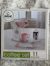 Kidkraft Coffee Set Kids Kitchen Toys Brand New Pink Purple