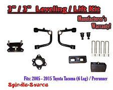 "2005 - 2016 Toyota Tacoma  3"" / 3"" Lift Kit  + TUBULAR Upper Arms UCA"
