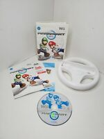 Mario Kart Wii With Wii Wheel (Nintendo Wii) - Complete & Tested