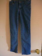 Girl's Jean's Faded Glory Sz 10 Blue Jean Slim Stright Leg Elastic Waist