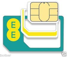 UK EE SIM TOP UP £15 5 GB DATA 500 MINTES UNLIMITED TEXT BEST COVERAGE IN UK EE