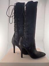 NIB Women's BCBGeneration BG-ERINN Sueded Black Shimer Boots Size.7 FREE GIFT!!
