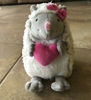 """🦔Mary Meyers Little Prickles 6"""" Plush Hedgehog Porcupine Pink Grey Mothers Day"""