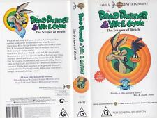 THE ROAD RUNNER & WILE COYOTE VHS PAL VIDEO~A RARE FIND