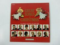 The Great Songs Of Christmas by Various Artists Album Five Vinyl LP Columbia