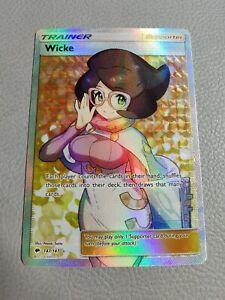 Wicke | Full Art | EX | SM Burning Shadows 147/147 | Pokemon