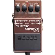 BOSS OC-3 SUPER OCTAVE PEDALE PROFESSIONALE IN VENDITA ,Roland BOSS