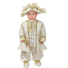 Vestito Costume Re Luigi XIV 3/6 Mesi Carnevale Pegasus Party