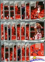 (100) 1998 UD Michael Jordan Factory Sealed Sticker Foil Packs MINT w/600 Jordan