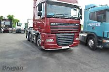 To Fit DAF XF 105 Low Light Bar Spoiler Under Bumper Lobar + 11 LED + Mud Flaps