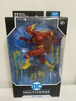 McFarlane Toys DC Multiverse The Flash Rebirth Action Figure In Hand