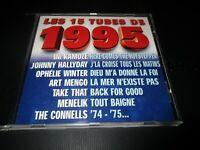 "CD ""LES 15 TUBES DE 1995"" Johnny HALLYDAY, Ophelie WINTER, Menelik & La Tribu"