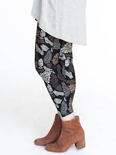 NWT Agnes and Dora Leggings in a Pretty Wild Pattern Size Large