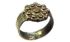 Ancient Roman Byzantine Constantinople Intricate Starburst Ring Pendant AD700