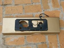 Ford XD XE Falcon Fairmont Ghia ESP sedan rear number plate holder and fuel flap