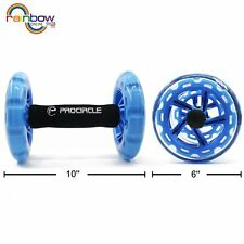PROCIRCLE Ab Roller Wheel - Double Core Abdominal Wheel - Workout for Abs, Back,