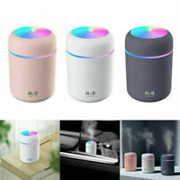 USB Air Aroma Oil Humidifier LED Light UP Diffuser Electric Home Purifier 300ml