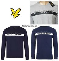 LYLE AND SCOTT  LARGE LOGO SWEATSHIRT FOR MEN'S
