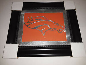 "Denver Broncos NFL Laser Cut Wall Art 11"" x 13"""