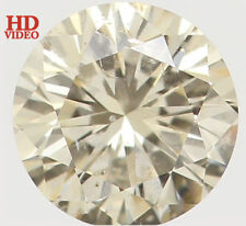 Natural Loose Diamond Round SI1 Clarity Yellow Color 3.60 MM 0.17 Ct KR1439