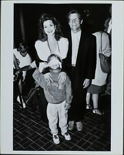 Annie Potts (Actress), Clay Senechal (Son of Annie), Steven Hartley HOLLYWOOD