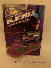 Batman Joker Car Launcher RPMs Tonka 1990 New in unopened box