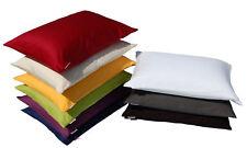 2 x beties Kissenbezug Mako Satin aus 100% Baumwolle 40x60