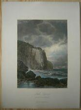 1872 Bryant print BAPTISM BAY, LAKE SUPERIOR, MINNESOTA (#16)