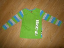 Legowear age 7 Sensei Wu Striped long sleeve top Lego Wear blue green Grey