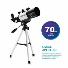 30070 Astronomical Refractor Telescope With Tripod For Beginners Optical Prism