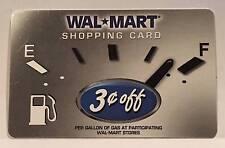 WalMart Gas Discount Shopping Card Gas Gauge 2006 Gift Card VL-1731