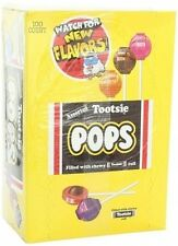 Tootsie Pops Assorted Lollipops Candy Suckers Lollipop Pack of 100 FREE SHIPPING
