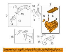 VW VOLKSWAGEN OEM 09-14 Jetta Air Cleaner Intake-Filter Box Housing 3C0129607AT