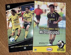 Columbus Crew Media Guides 2007-2008 MLS