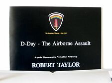 D-Day - The Airborne Assault, Robert.Taylor, Multi-Page Advertising Brochure